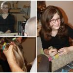 Kristínka, ktorej sme ako prvej vyrobili parochňu v rámci projektu Vystrihaj sa Slovensko. Práve vďaka jej odhodlaniu a poskytnutiu rozhovorov, sme vedeli celý projekt rozbehnúť.