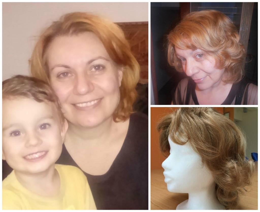 Krásna maminka Miriama, ktorej sme aj vďaka vám vedeli vyrobiť parochňu a urobiť jej aspoň radosť.