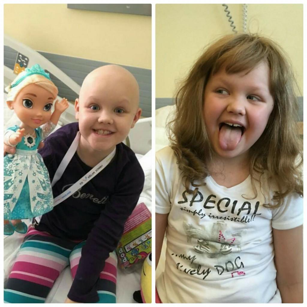Sedemročné slniečko, Lilka, ktorej aj napriek ťažkej chorobe srší z tváre skutočná detská radosť.